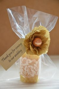 Wedding Beeswax Candles Ver.5